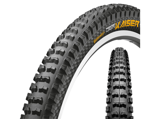 Continental Der Kaiser Projekt 2.4 - Pneu vélo - o noir